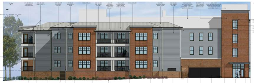 Dorechester Boutique Hotel Project Rendering 3