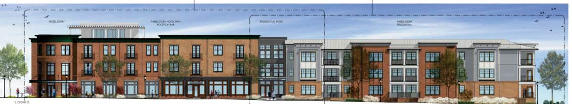 Dorechester Boutique Hotel Project Rendering 4